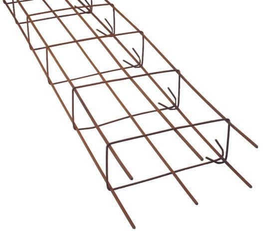 semelle sym trique de fondation l 6 m section 15 x 35 cm. Black Bedroom Furniture Sets. Home Design Ideas