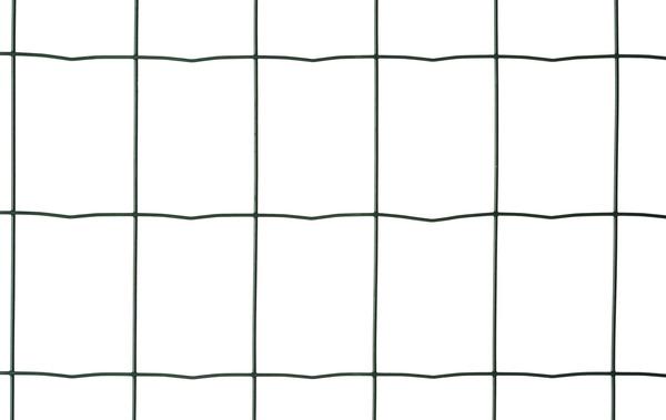 Rouleau Grillage Soude En Acier Galvanise Plastifie Vert L 25 M X