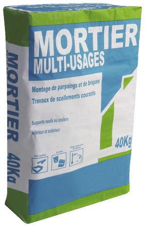 Mortier Multi Usages 40 Kg Brico Dépôt