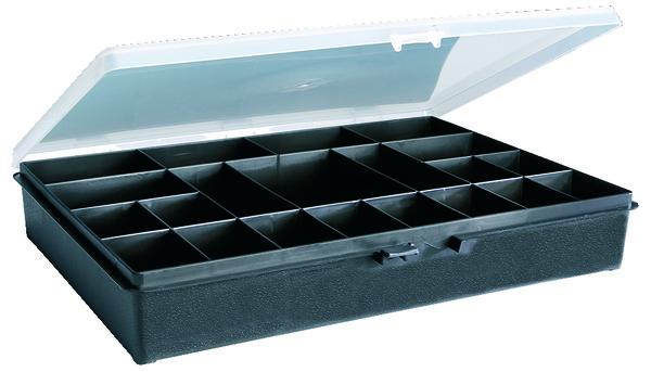bo te de rangement 18 cases l 27 x l 17 5 x h 4 cm brico d p t. Black Bedroom Furniture Sets. Home Design Ideas