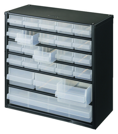 casier de rangement m tal 24 tiroirs 330 x 307 x 146 mm. Black Bedroom Furniture Sets. Home Design Ideas