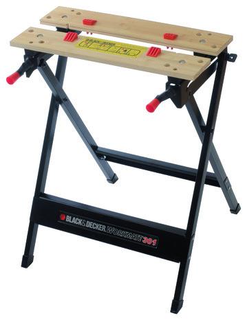 tabli de serrage en acier wm301 haut 76 cm brico d p t. Black Bedroom Furniture Sets. Home Design Ideas