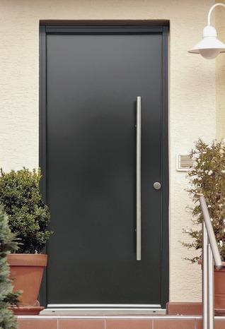 """porte d'entrÉe mÉtal """"toubkal"""" h. 215 x l. 90 cm droite - brico dépôt"""