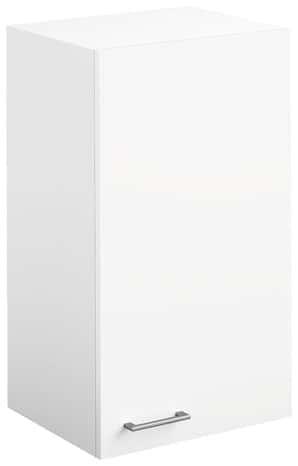 meuble bas 1 porte 1 tiroir bali blanc l 40 x h 82 x p