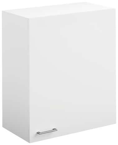 Meuble Haut 2 Portes Bali Blanc L 80 X H 69 X P 31 6 Cm