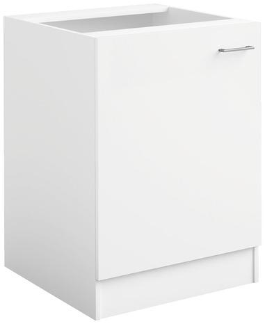 meuble sur hotte 1 porte bali blanc l 60 x h 41 x p 31 6 cm brico d p t. Black Bedroom Furniture Sets. Home Design Ideas
