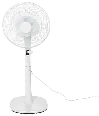 ventilateur sur pied 45 cm dc inverter brico d p t. Black Bedroom Furniture Sets. Home Design Ideas