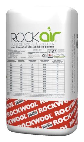 Laine De Roche à Souffler Rockair 20 Kg(3)   ROCKWOOL   Brico Dépôt