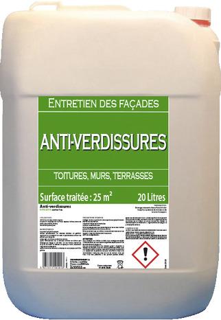 Traitement Anti Verdissures 20 L