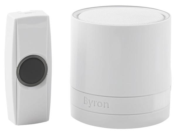 Carillon Sonnette Sans Fil Blanc Byron Brico Dépôt