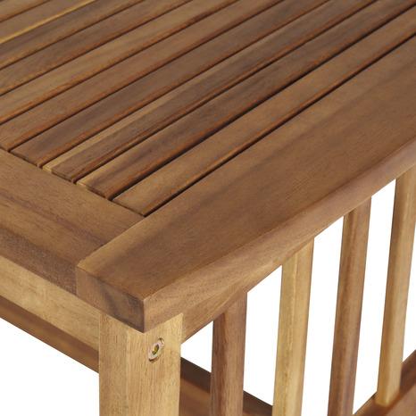Salon de jardin en bois \