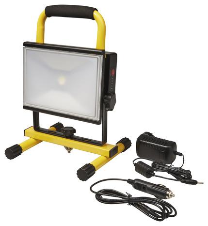 projecteur chantier rechargeable led 1 400 lm 1400 lm brico d p t. Black Bedroom Furniture Sets. Home Design Ideas