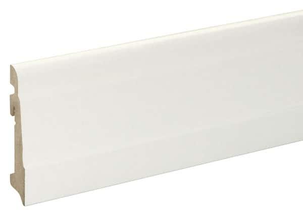 Plinthe moulurée blanche long. 220 cm x larg. 100 mm x ép. 19 mm - Brico Dépôt