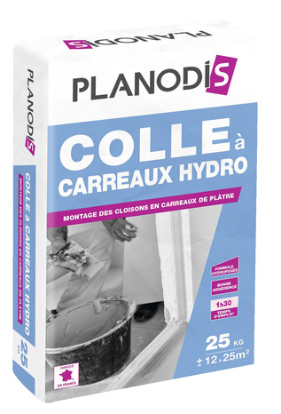 Colle Pour Montage De Carreaux De Plâtre Hydrofuges 25 Kg Planodis