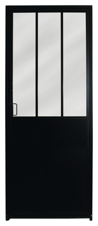 Bloc Porte D Atelier Droit Industrial H 204 X L 83 Cm Brico Depot