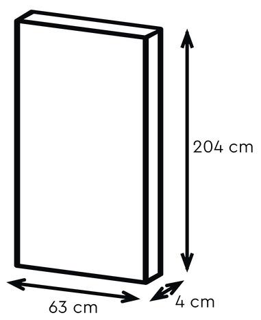 bloc porte isoplane pr peint haut 204 x larg 63 cm droit. Black Bedroom Furniture Sets. Home Design Ideas