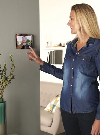 Ecran Plat Miroir Portier Video Filaire 7 Gamme Jelbi Brico Depot