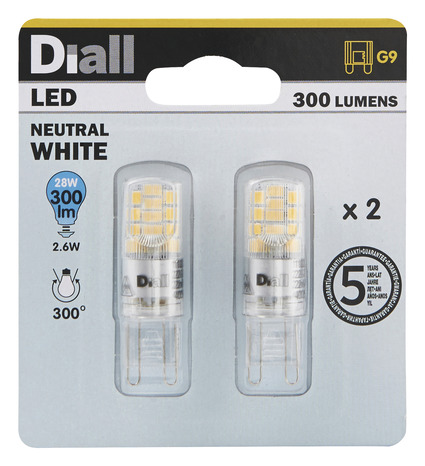 28w Capsule Diall 2 4000k Led Ampoules G9 0wvnOmNy8