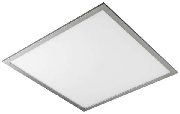 Panneau Led Silver 60 X 60 Cm Brico Dépôt