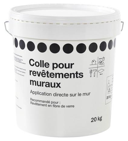 Colle Pour Revetements Muraux En Fibre De Verre 5 Kg Brico Depot