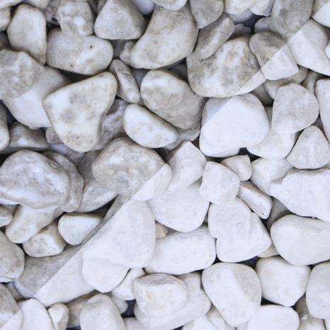 Gravier Marbre De Carrare Blanc Sac De 25 Kg Brico Depot