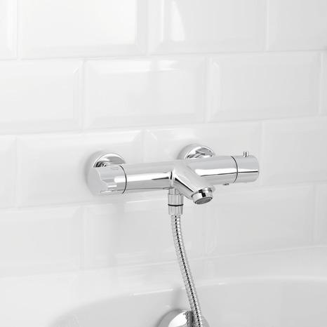 mitigeur bain douche thermostatique lanton brico d p t. Black Bedroom Furniture Sets. Home Design Ideas