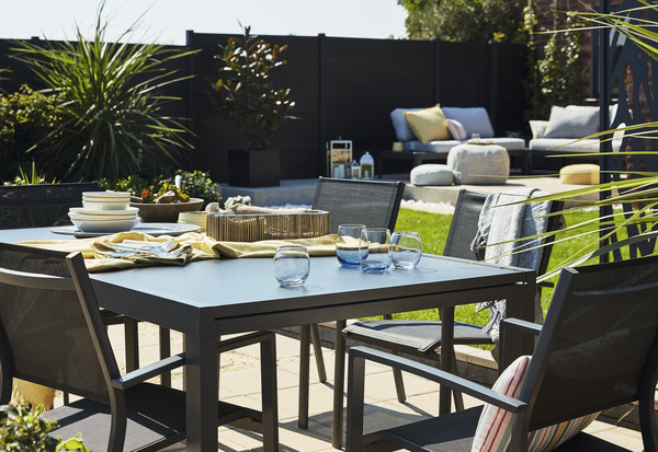 Table de jardin extensible \