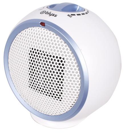 Mini Radiateur Soufflant 300w Blanc Gris Brico Dépôt