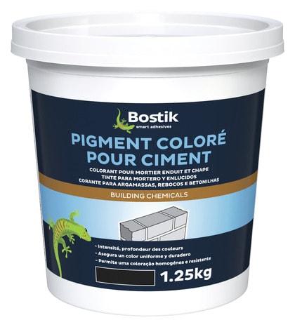 Pigment Colore Pour Ciment 1 25 Kg Noir Brico Depot