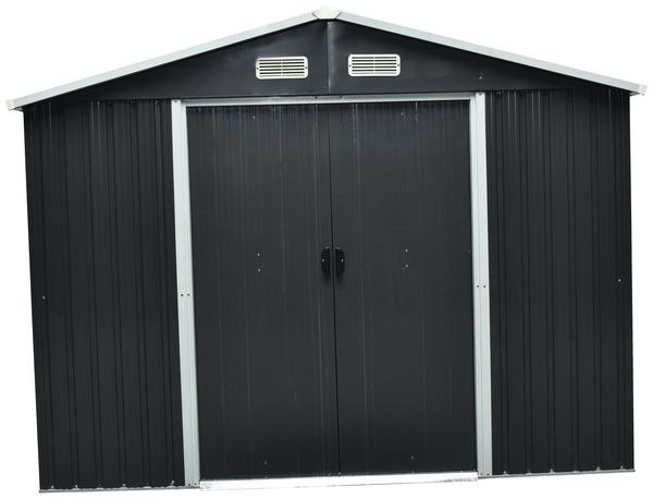acheter populaire c2df7 2d00d Abri de jardin métal gris 9 m²*