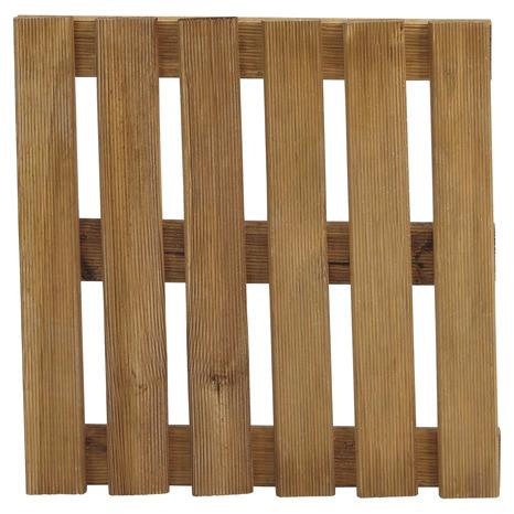 dalle en bois marron 40 x 40 cm - brico dépôt