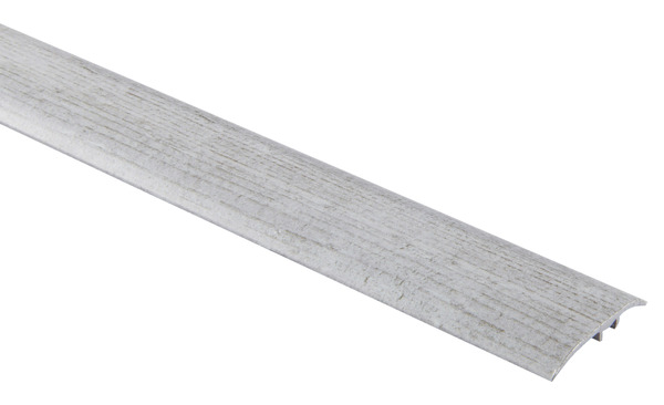 Barre De Seuil En Aluminium Decor Imitation Pin Gris 2 Frises Long 93 X Larg 3 7 Cm X Ep 1 2 Mm Brico Depot