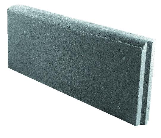 Bordure Beton Grise Larg 50 Cm X Haut 20 Cm X Prof 5 Cm Brico Depot