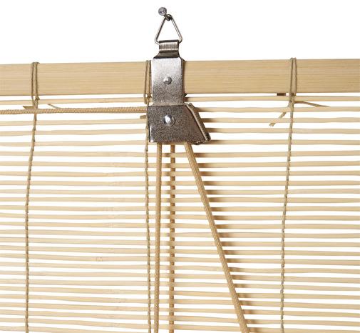 Store enrouleur bambou l 160 x h 180 cm brico d p t Store exterieur fenetre bambou