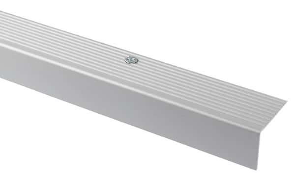 Nez De Marche Aluminium Mat Long 1800 X Larg 35 X ép 25 Mm Goodhome