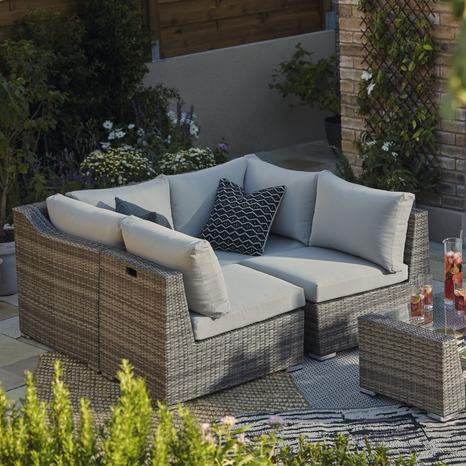 salon de jardin maevea brico d p t. Black Bedroom Furniture Sets. Home Design Ideas