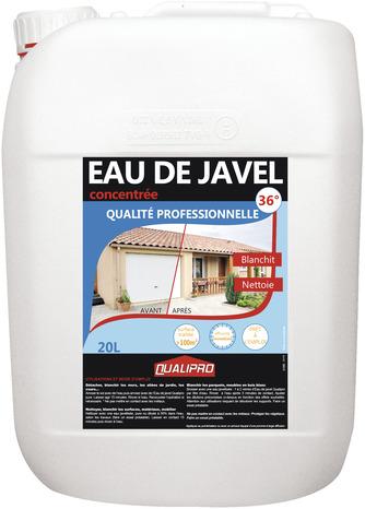 Eau De Javel 20 L Pour Nettoyer Blanchir Désinfecter