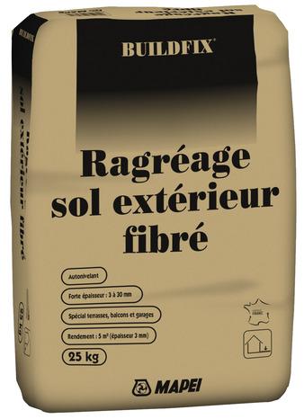Ragreage P3 Fibre Hautes Performances 25 Kg Brico Depot