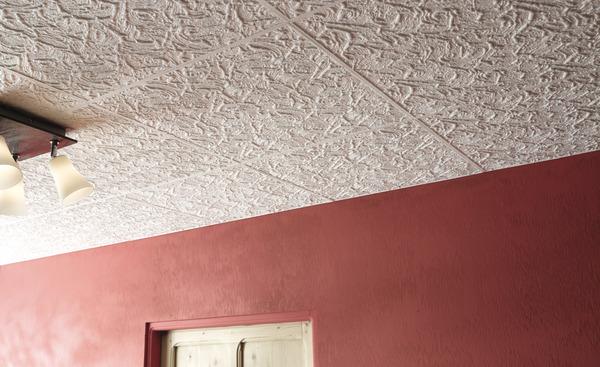 Dalle De Plafond En Polystyrène Expansé Martinique 50 X 50 Cm Ep 10 Mm