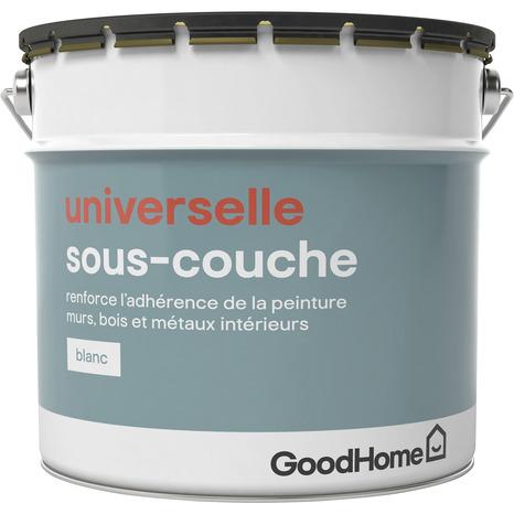 Sous Couche Blanche Universelle 10 L Goodhome