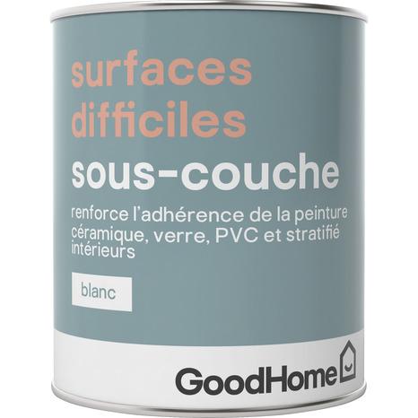 Sous Couche Blanche Pour Surfaces Difficiles 750 Ml Brico Depot
