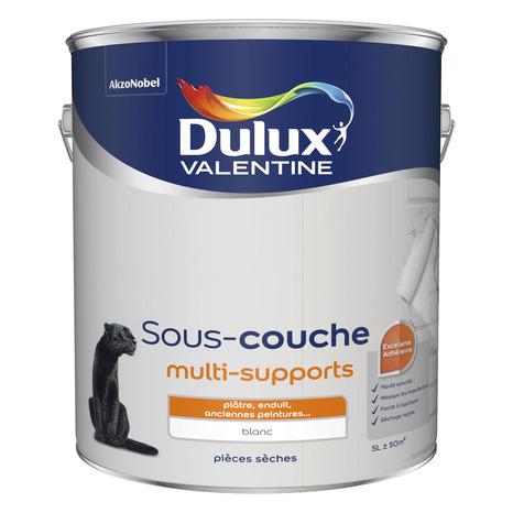 Sous Couche Blanche Multi Support 5 L Brico Depot