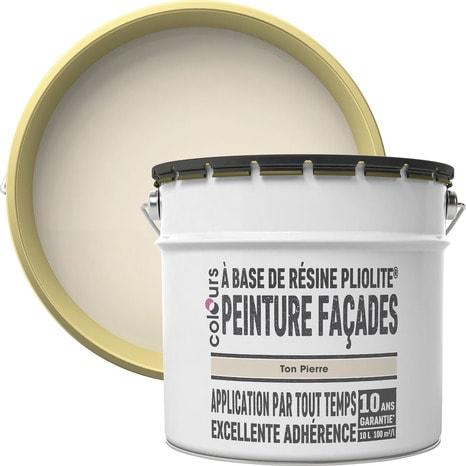 Peinture Facade Pliolite Ton Pierre Mat 10 L Brico Depot
