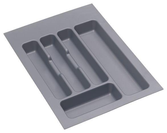 Range couvert gris orion en plastique capacit 40 couverts - Meuble range couvert ...
