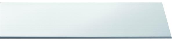 lambris pvc 1 frise 2600x250x10mm blancbri magasin de. Black Bedroom Furniture Sets. Home Design Ideas