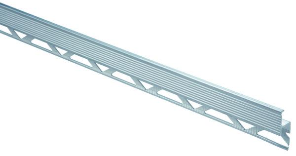 Nez de marche aluminium brico d p t for Nez de marche exterieur carrelage