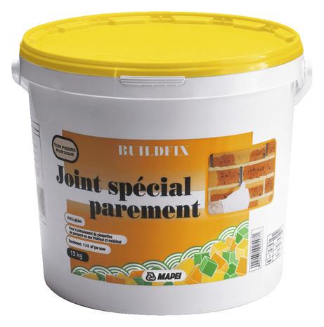 Joint sp cial parement brico d p t for Parement pierre exterieur brico depot