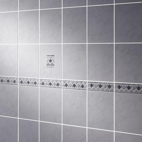gris en faïence/marbre 20x25 cm - brico dépôt