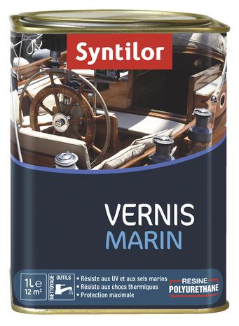 Vernis Marin Bois Interieur Exterieur Incolore Satin 1 L Brico Depot
