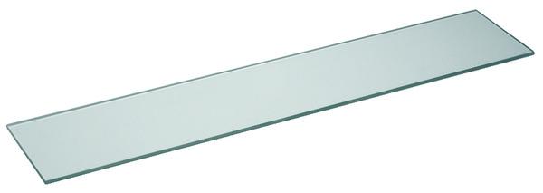 Tablette de lavabo en verre tremp l 60 l 12 cm ep 5 mm for Tablette brico depot
